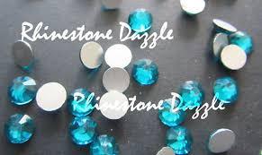 Quality ss20 Non Hotfix Blue <b>Zircon</b> Flatback Rhinestones, 5mm ...