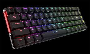 Беспроводная <b>игровая клавиатура ASUS ROG</b> Falchion имеет ...