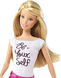 amazoncom barbie fashionistas barbie doll pink skirt and be yourself shirt toys games barbie doll