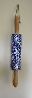 paint bedroom photos baadb w h: blue english ironstone calico chintz rolling pin probably from burleigh