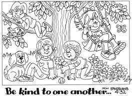 Small Picture Friendship Coloring Page For Preschool Printable Coloring Pages