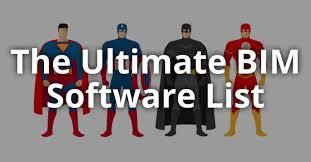 The Ultimate BIM Software <b>List</b> For 2019 - LOD Planner