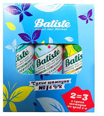 <b>Batiste сухой шампунь Cherry</b>, 50 мл + Tropical, 50 мл + Original ...
