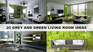 green living room decor:   stunning grey and green living room ideas