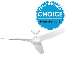 """Infinity Low Profile DC Ceiling Fan with <b>LED Light</b> Remote - <b>White 48</b>"""""""