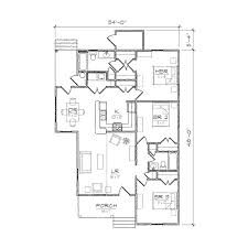 Whitney II Folk Victorian Floor Plan   TightLines DesignsWhitney II floor plan