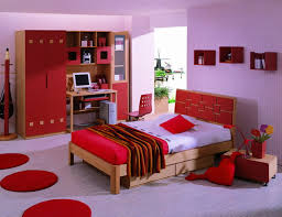 Red Color Bedroom Bedroom Ideas For Teenage Girls Red Colors Theme Magnificent With