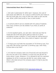 Word Problems Worksheets Free - Free worksheets for ratio ...Math Worksheet : Maths Word Problems Worksheets For Year 5 Educational Math Word Problems Worksheets Free