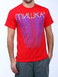 Купить <b>Футболка Mishka Cyrillic</b> Trail Red (S) - KiteTeam