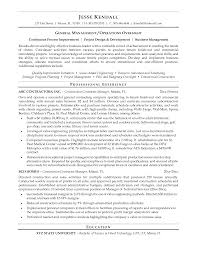 general contractor resume getessay biz construction general contractor example in general contractor