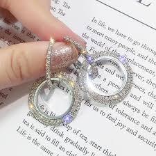 <b>New design creative jewelry</b> high grade elegant crystal earrings ...