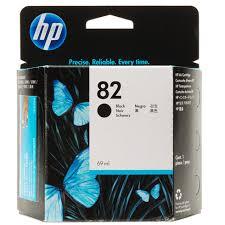 <b>HP 82 Black</b> Ink Cartridge (CH565A), 69ml for DJ - New Dimensions