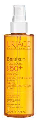 Солнцезащитное <b>сухое масло</b>-<b>спрей</b> для волос и тела - <b>Uriage</b> ...