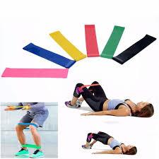 Online Shop <b>6Pcs</b>/Set Elastic Fitness Yoga Loop <b>Band</b> Natural Latex ...