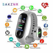 Smart Band <b>m3 Sprrt Continuous</b> Heart Rate Monitor Smart Bracelet ...