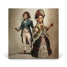 Young Élise & <b>Arno</b>   Assassin's Creed <b>Unity</b> Gaming Wall Art ...
