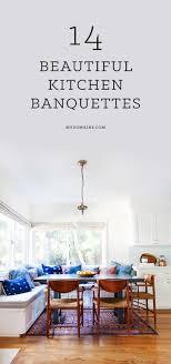 Kitchen Banquette Furniture 17 Best Ideas About Banquette Seating On Pinterest Kitchen