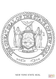 Small Picture New York State Seal coloring page Free Printable Coloring Pages