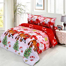 JARSON <b>4Pcs Merry Christmas</b> Bedding Set Full Size,3D <b>Santa</b> ...
