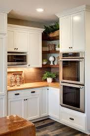 corner kitchen cabinet design ideas