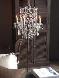 chandelier floor lamp i own this floor lamp and it is so beautiful the chandelier floor lamp home lighting