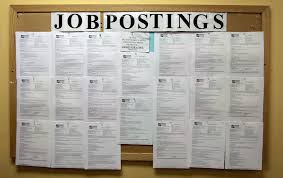 labor day 2011 and obama s job killing policies stamper brown view full sizeap photoa job postings board is shown at central city concern employment access center today in portland ore u s employers stopped adding
