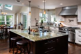 stupendous long narrow kitchen island images design