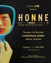 "Ismaya Live Brings <b>HONNE's</b> ""<b>Love Me</b> / Love Me Not 2019 Tour"" to ..."