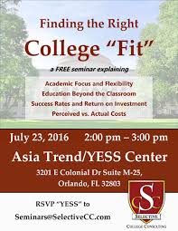 finding the right college fit asia trend finding the right college fit