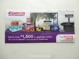 costco organic savings for northern ca northern nv to costco 2015 coupon book 06 11 15 to 07 05 15