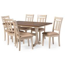 Distressed White Kitchen Table Baxton Studio Wholesale Dining Sets Wholesale Dining Room