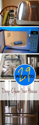 best ideas about house cleaning tips cleaning 29 ways to deep clean your home