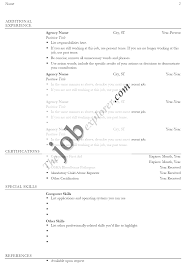 a blank resume form resume templates printable template sample blank regarding resume examples for s executive