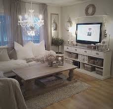 chic living room dcor: awesome nice cozy living room romantic rustic chic white cream creme