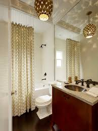ceiling mount shower curtain rod bathroom transitional with contemporary lighting flat panel ceiling wall shower lighting