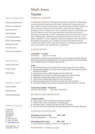 teaching cv template job description teachers at school cv example resume teacher aides job description