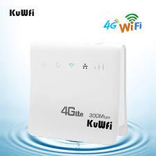 <b>KuWFi 4G LTE</b> CPE SIM Card <b>Router</b>, Unlocked <b>4G</b> CPE <b>Wireless</b> ...