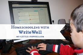 homeschooling writewell my little poppies writewell homeschooling homeschool online learning writing app