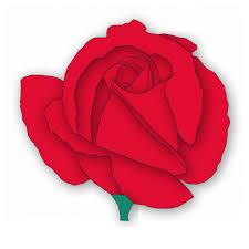 Image result for red rose day clip art