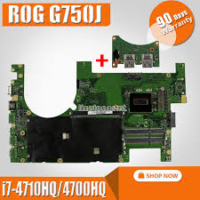 Send board +<b>2D</b> Laptop <b>motherboard</b> for ASUS <b>G750JM G750JW</b> ...
