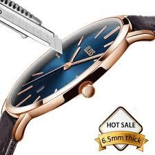Watches <b>Men</b> Brown <b>Leather</b> Watch <b>Quartz</b> Date Wrist Watch Male ...