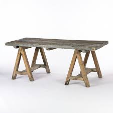 outdoor dining table lfb diy sawhorse table via cocoonhome  diy sawhorse table via cocoonhome