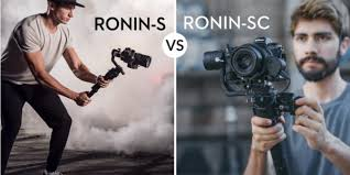 <b>DJI Ronin-S</b> VS DJI Ronin-SC Comparison | Which Gimbal Is Right ...
