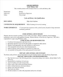sample dietary aide job description 9 examples in pdf teacher aides job description