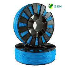 Купить нить для 3D принтера <b>ABS пластик</b> 1,75 SEM <b>голубой</b>