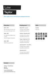 free résumé designs every job hunter needs   have a pretty impressive background  try this lean design