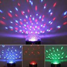 Big Promotion <b>Mini</b> LED <b>RGB</b> Crystal Magic Ball Effect Light DMX ...