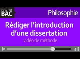Philosophie   R  diger l     introduction d     une dissertation   vid  o de m  thode
