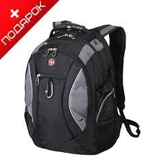 """<b>Рюкзак</b> Swissgear <b>SA1015215</b> """"Neo"""" черный/серый с отделением ..."""