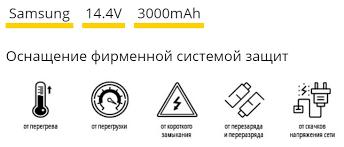 <b>Аккумулятор TopON TOP</b>-<b>SASS</b> для Samsung Tango VC-RA50VB ...